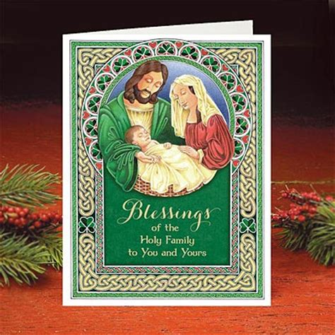 Holy Family Cards - card holy family card
