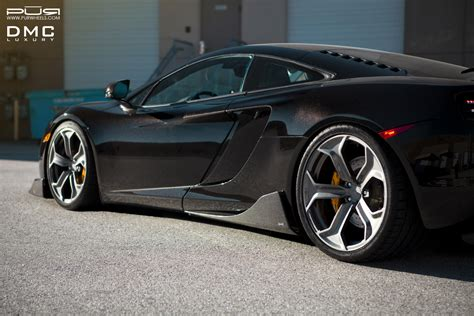 mclaren wheels showcasing the mclaren mp4 12c by dmc luxury and pur wheels