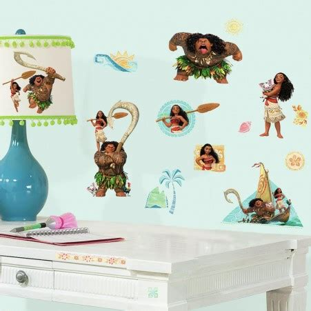 Toy Story Wall Stickers disney moana peel and stick wall decals roommates