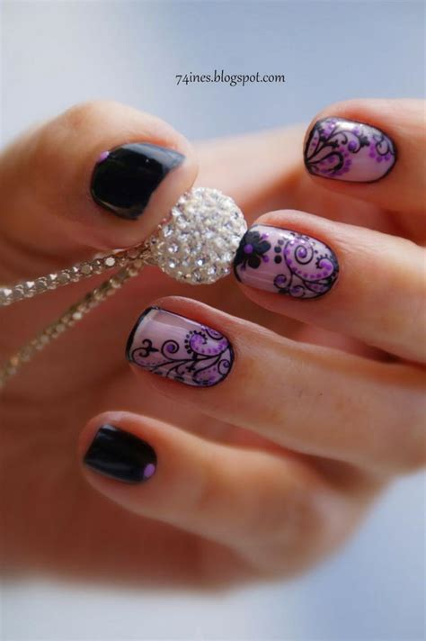 fashionable lace nail art designs hative