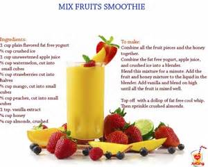 mixed fruit smoothie raw best of juices smoothies