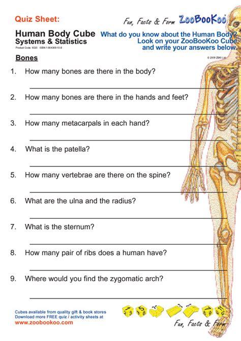 printable anatomy quiz printables human body worksheets kigose thousands of