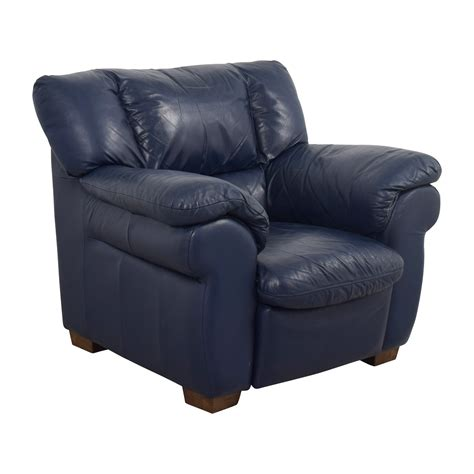 navy blue chair and ottoman navy blue leather sofa chair teachfamilies org
