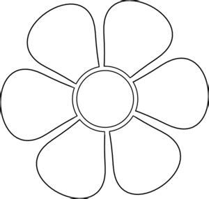 daisy stencil clip art at clker com vector clip art