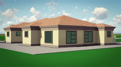 sa house plan beautiful 4 bedroom house plan in sa house plan