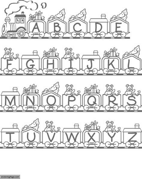 printable alphabet train train coloring pages ecoloringpage com printable