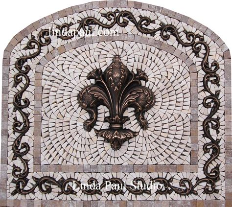 mosaic medallion backsplash 100 kitchen medallion backsplash tiles metal accent