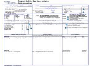blue sheet sales template miller heiman blue sheet related keywords miller heiman