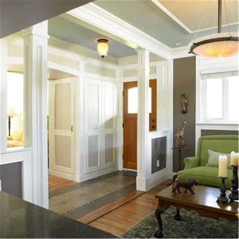 how to create a foyer in an open floor plan no entry hall create the illusion of one