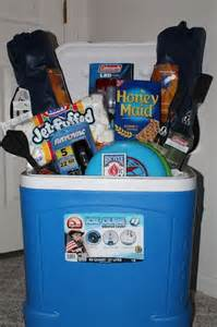 Themed basket camping campfire s mores or family night more