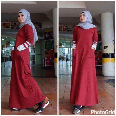Larisa Dress Gamis larisa maroon baju muslim gamis modern