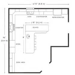 Floor Plan For Kitchen by Best 25 Kitchen Floor Plans Ideas On Pinterest