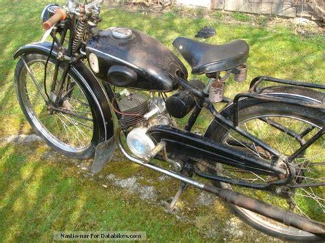Yamaha Motorrad Aster by 1950 Sachs Bastert 98