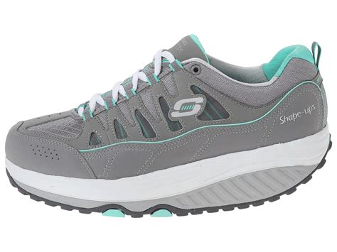 comfort stride shoes skechers shape ups 2 0 comfort stride gray mint zappos