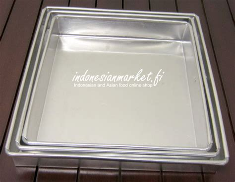 Loyang Pai Aluminium 24 Cm peralatan dapur cetakan makanan loyang lapis surabaya 24 cm