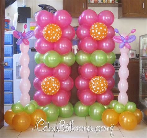 butterfly flower balloon decoration cebu balloons and