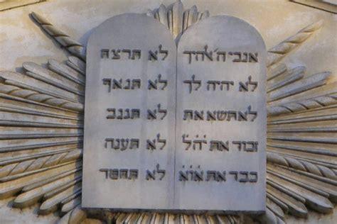 tavola dei dieci comandamenti quali sono i dieci comandamenti