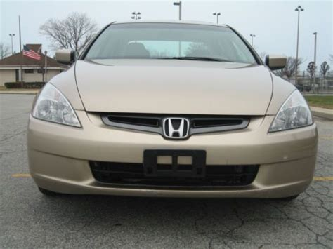 purchase used 2003 accord ex l v6 4 door clean carfax 1