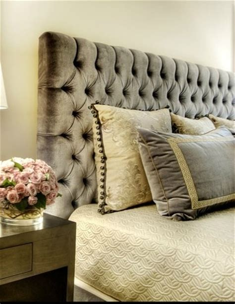 bedroom beautiful grey velvet tufted headboard grey tufted headboard upholstered king bed with grey wood
