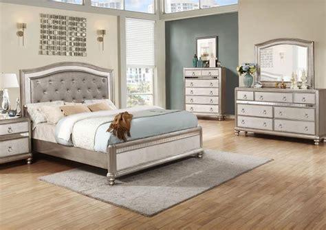 mirrored queen bed frugal furniture boston mattapan jamaica plain dorchester ma metallic platinum