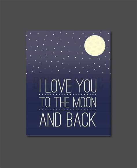 I Love You To The Moon And Back Painting Www Pixshark I You To The Moon And Back Nursery Decor