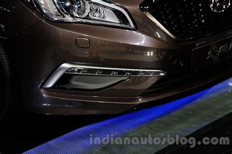 Lu Led Drl Motor 2015 hyundai sonata led drl at 2014 guangzhou motor show indian autos