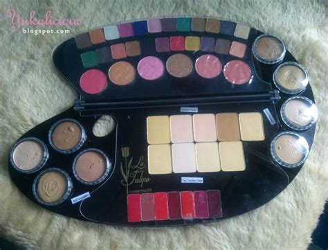 Review Harga Foundation Lt Pro yukalicious review la tulipe decorative palette a