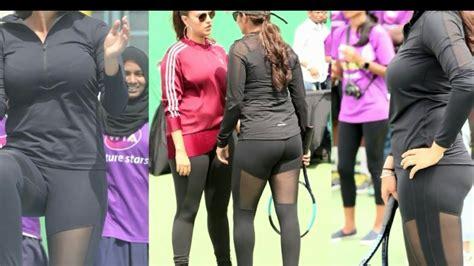 Sania Pant Sania Mirza Exercise In Pant
