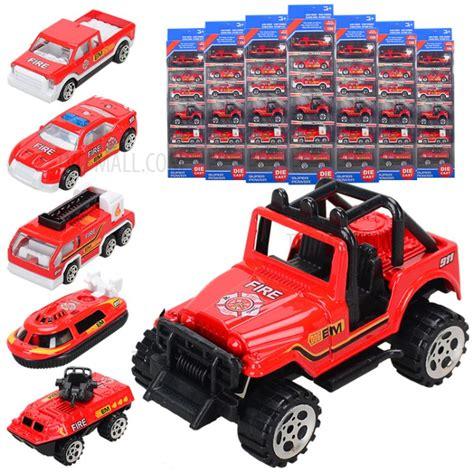Diecast Construction Playset Isi 6pcs Die Cast Metal Se327 6pcs set 1 64 metal alloy die cast cars emergency rescue series mini car toys for children