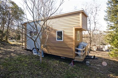 eco friendly tiny house the colorful tiny home is only 140