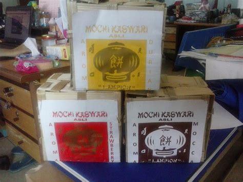 Keranjang Sah mochi dalam kemasan keranjang foto mochi kaswari lion