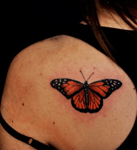 monarch butterfly tattoo small tattoos archives chronic ink
