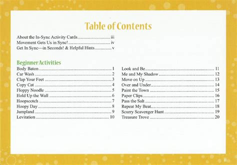 What Is The Table Of Contents by Tables Of Content Books To Computer
