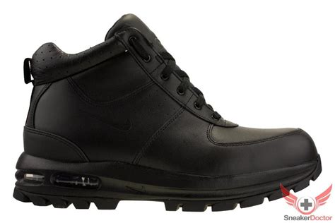 mens nike air max boots new nike mens air max goaterra acg leather boots black