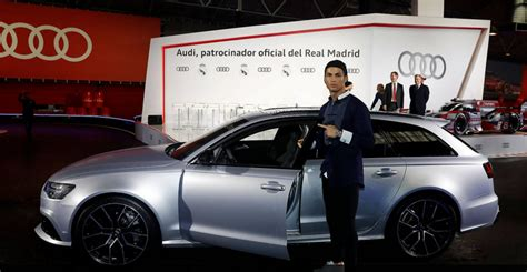 Ronaldo Audi by Jugadores Real Madrid Recibieron Autos Audi F 250 Tbol