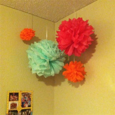 Make Tissue Paper Balls - diy tissue paper balls classroom ideas