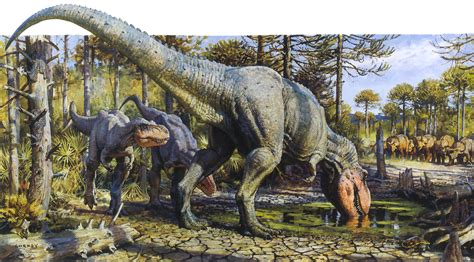 painting dinosaurs prehistoric beast of the week with artist