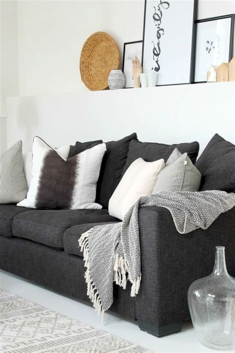 dark gray sofa ideas best 20 dark gray sofa ideas on pinterest gray couch