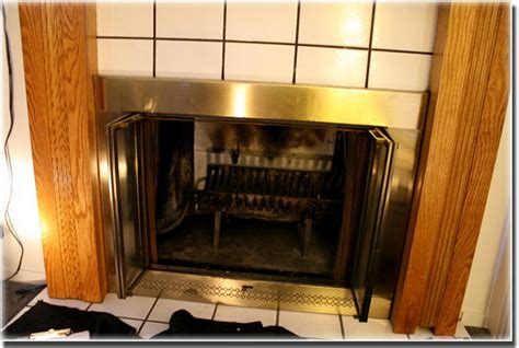 prefabricated fireplace glass doors aftermarket glass doors completely cover this pre