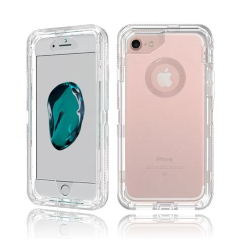 wholesale iphone 7 6s 6 transparent armor defender clear