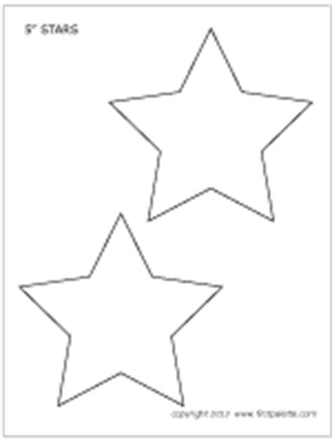 printable medium star template stars printable templates coloring pages