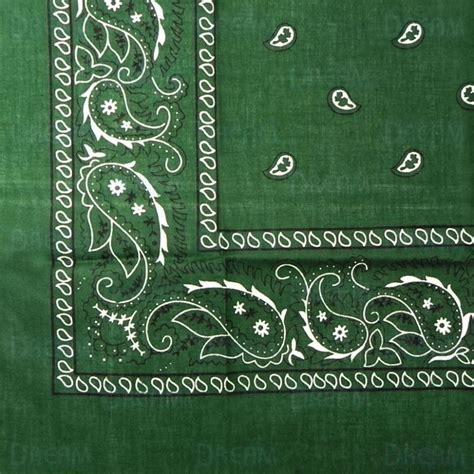 Bandana Reguler bandana folded regular green world products