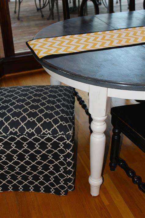 chalk painted kitchen table antsi