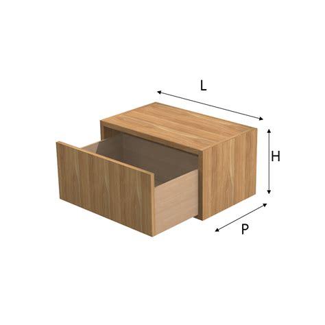 cassetto legno modulo q box con cassettoin legno su misura