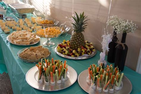bridal shower table setup wedding shower food table set up shower ideas