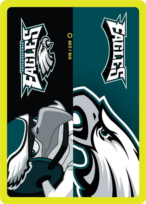 Philadelphia Eagles Cards - philadelphia eagles endzone card from the nfl zone