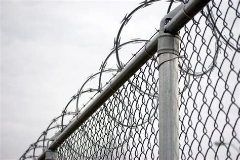 fence wire razor wire fence