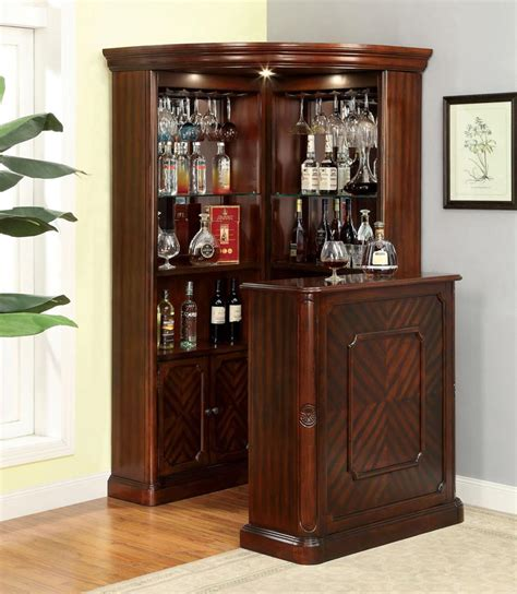 Corner Bar Cabinet Wine Rack Wooden Corner Bar Review Solid Wood Curio Cabinet