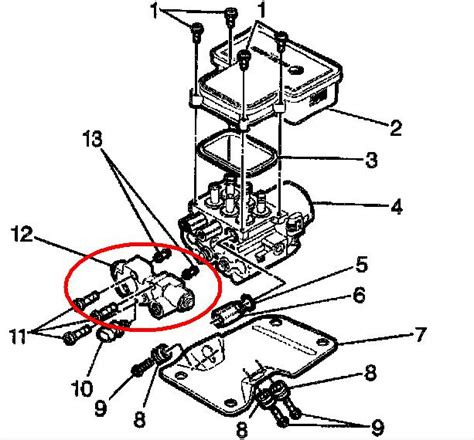 repair anti lock braking 1995 chevrolet astro free book repair manuals service manual repair anti lock braking 2004 chevrolet blazer auto manual service manual