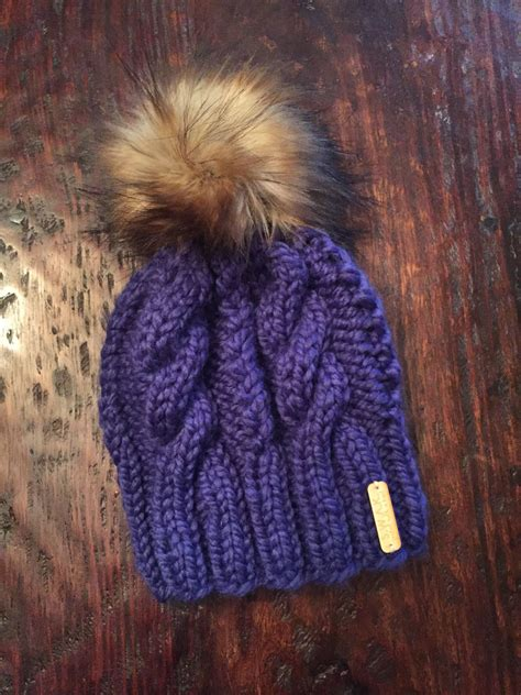 cable beanie knitted hats knitting winter hats